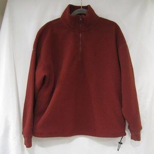 Everlane Re New L 1/2 Zip Fleece Pullover Jacket